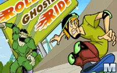 Scooby Doo Roller Ghoster Ride