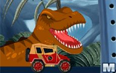 Dirija seu caminhão monstro no Parque Jurássico