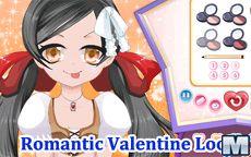 Romantic Valentine Look