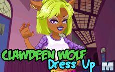 Monster High Series: Clawdeen Wolf Dress Up
