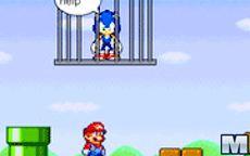 Super Mario – Save Sonic
