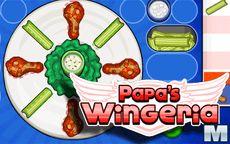 Papa's Wingeria - administre um restaurante
