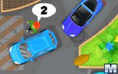 Estacionando os carros num hotel