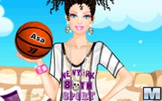 Barbie Plays Basketball