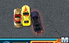 Perseguição de carro detetive