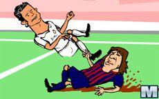 Ronaldo, o jogo do chorão