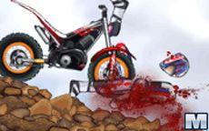 O último salto de motocross