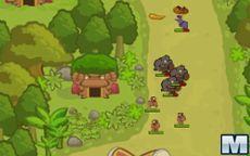 Tropa de orangotangos para defender a base
