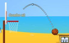 Jogar basquete no verão