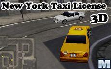 Tirando a licença de táxi em Nova Iorque 3D