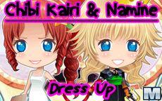Chibi Kairi & Namine Dress Up