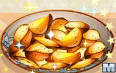 Cozinha da Sara: batatas assadas