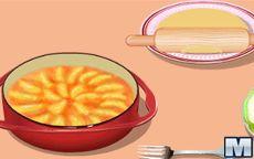 Aula de cozinhar da Sara: Torta de maça