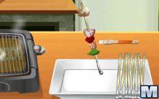 Cozinha com a Sara: espetinho de piquenique