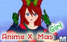 Anime X-mas Girl