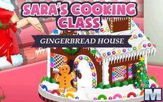 Aprenda a cozinhar com a Sara uma casinha de gengibre