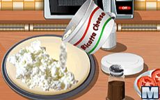Aprenda a cozinhar com a Sara: Pizza Tricolor