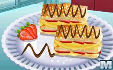 Aula de culinária da Sara: Pastel Napoleão