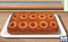 Cozinha com a Sara: bolo de abacaxi