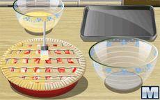 Cozinha com a Sara: Rhubarb Pie