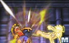 Naruto Luffy Fighting
