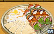 Cozinha com a Sara: Kebab