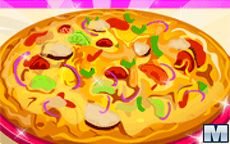 Juego para aprender a cocinar pizza Ratatouille