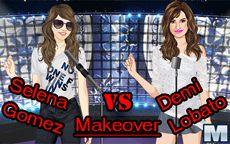 Selena Gomez VS Demi Lovato Makeover