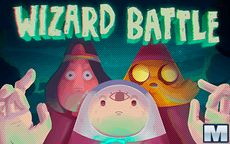 Adventure Time Wizard Battle
