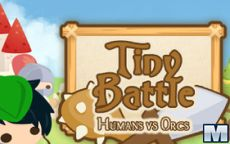 Tiny Battle: Human vs Orcs