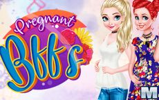 Pregnant BFFs
